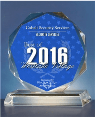 Cobalt Security Award - Best Security Services